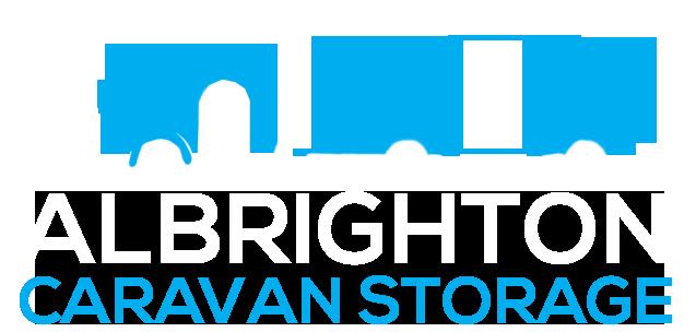 Albrighton Caravan Storage Logo white