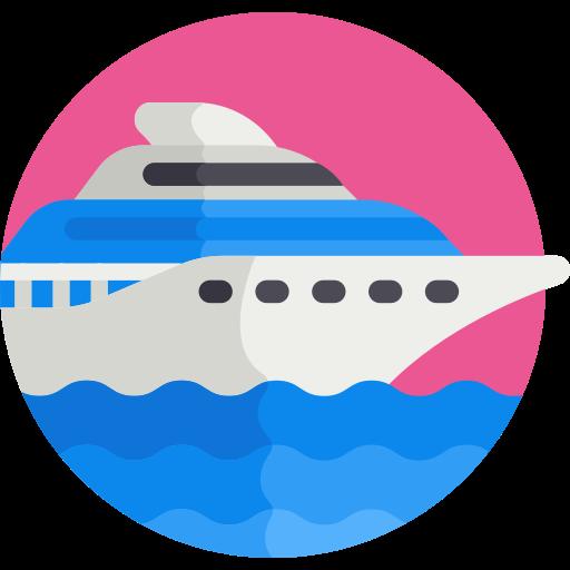 coloured boat icon
